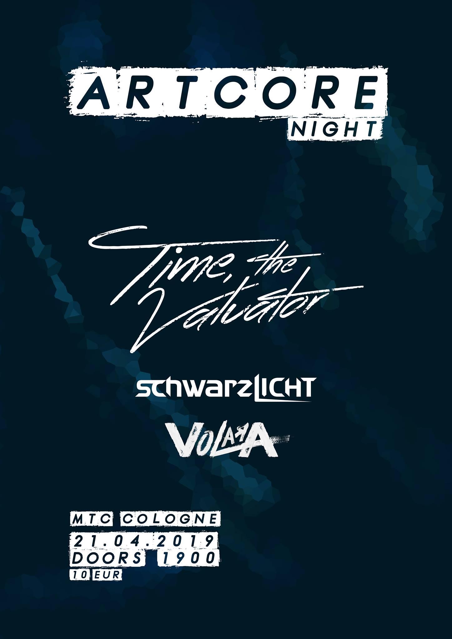 """""""Schwarzlicht"""" - Artcore Night 1"""